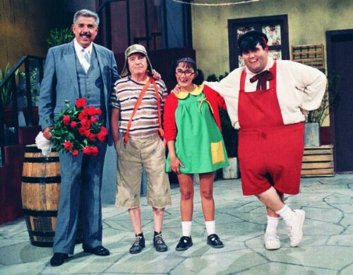 All For One or One For All: Drama on Homage to Chespirito