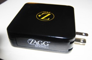 Zagg portable usb charger Radio Shack