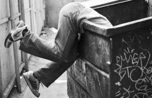 Raising a Bilingual Kid… While Dumpster Diving