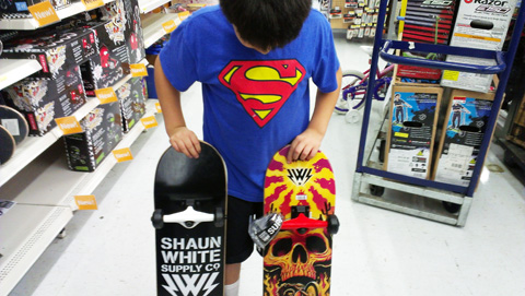 Shaun white skateboards at walmart juanofwords