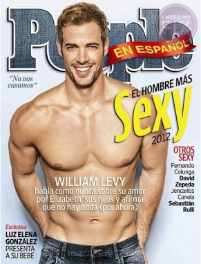 Of Course 'People En Español' Picks William Levy as the Sexiest Man Alive in 2012!