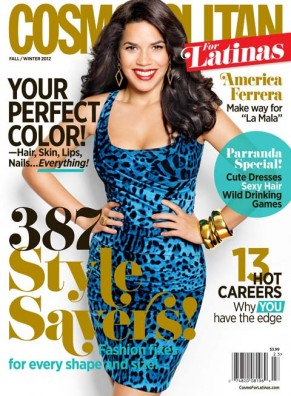 America Ferrera Opens Up About Self Image & Fame On The New Issue Of Cosmo for Latinas