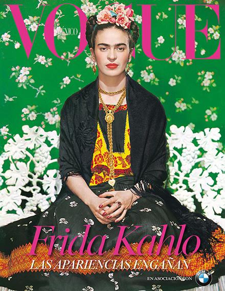 Frida Kahlo Vogue Cover juanofwords