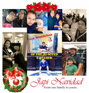 "We Want To Wish You A Very Merry And ""Japi Navidad!"""