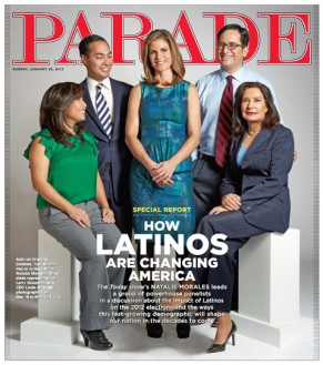 Starting This Sunday PARADE Magazine Promises More Latinos In Their Weekly Issues
