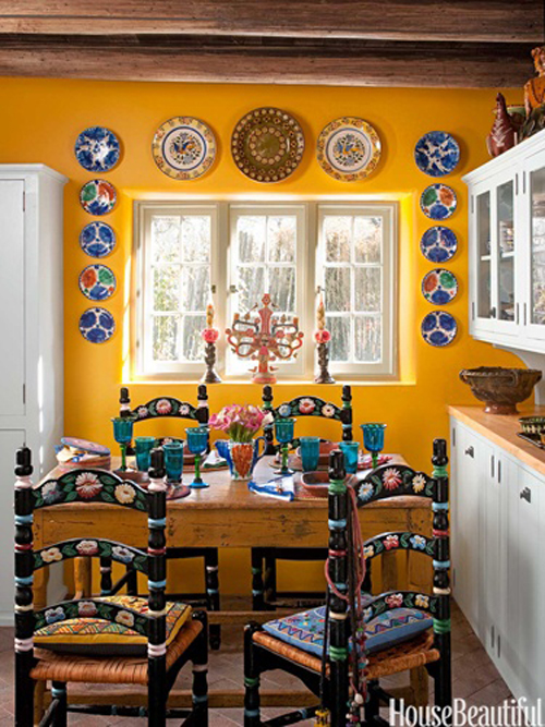 Latino living mexican decor inspiration for the latino for Mexican kitchen designs photos