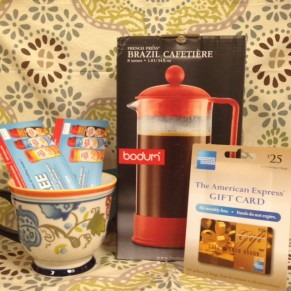 12 Days of Christmas: Day 5 – All you need for your Café from Coffee-mate