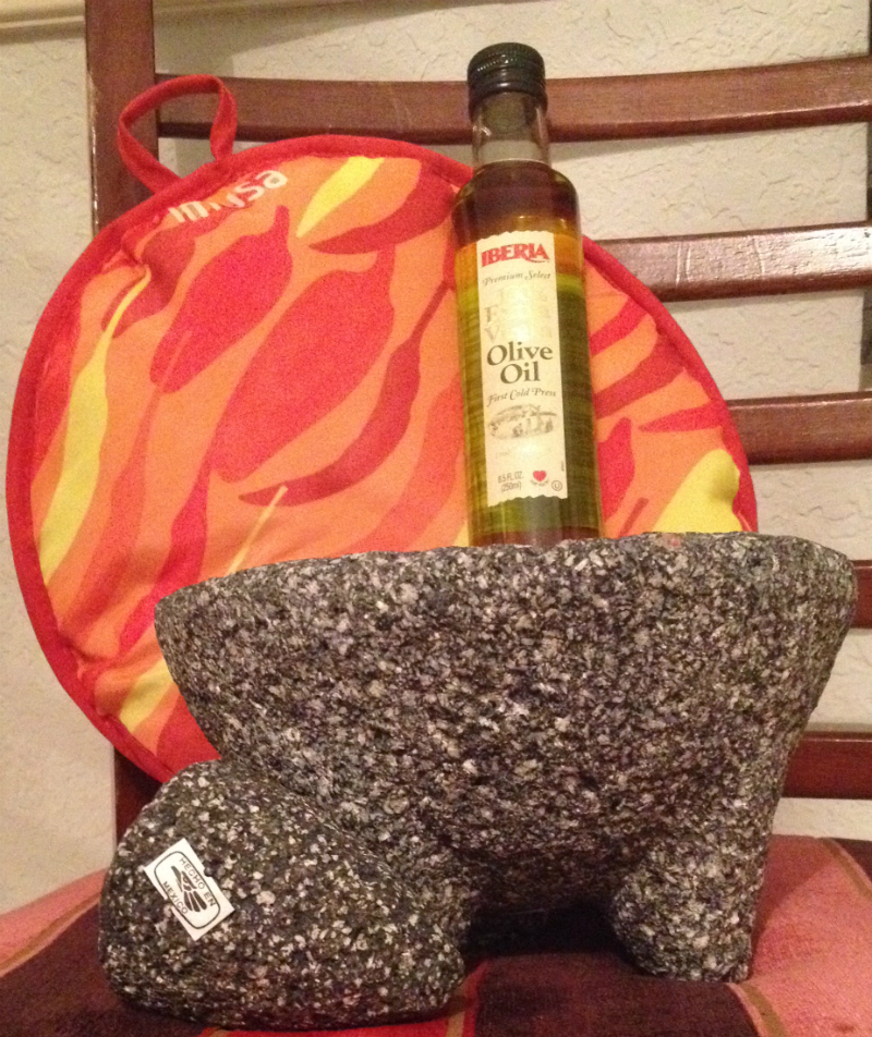 12 Days of Christmas Day 4 Molcajete