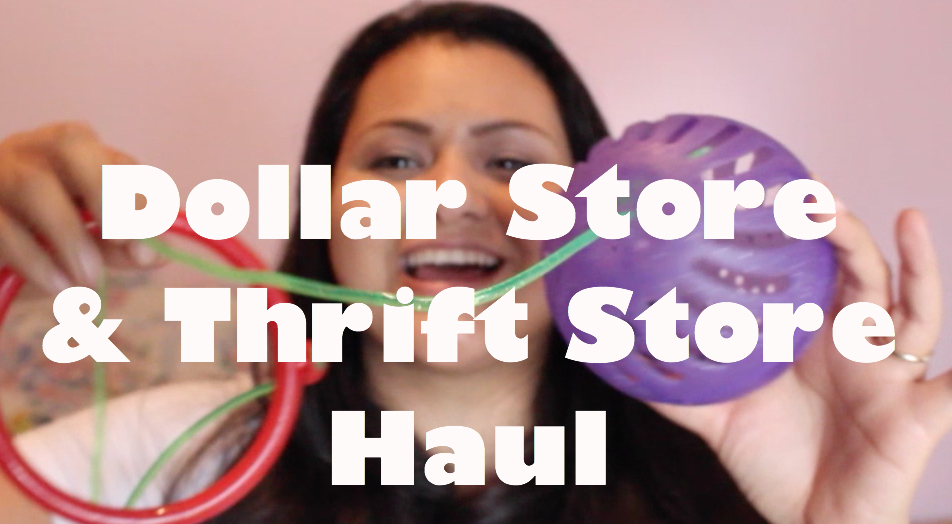 Dollar Store & Thrift Store Haul with CraftyThrifter