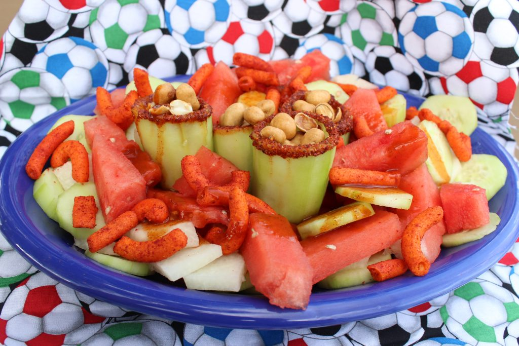 Mexican Cucumber Fruit Salad