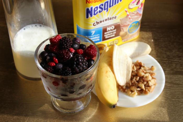 A healthy snack for back to school: Licuados